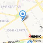 Память-1 на карте Дзержинска