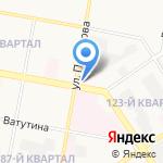 Восток на карте Дзержинска