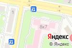 Схема проезда до компании Больница скорой медицинской помощи в Дзержинске