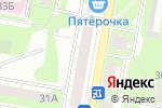 Схема проезда до компании Швейное ателье в Дзержинске