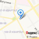 Средняя школа №10 на карте Дзержинска
