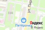 Схема проезда до компании Целитель в Дзержинске