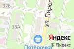 Схема проезда до компании Зверюшкина радость в Дзержинске