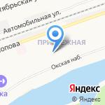 Средняя общеобразовательная школа №20 на карте Дзержинска