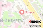 Схема проезда до компании НижегородНефтеГазСтрой в Дзержинске