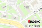 Схема проезда до компании Садовый центр в Дзержинске