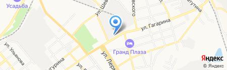 АЗС Роснефть-Ставрополье на карте Георгиевска