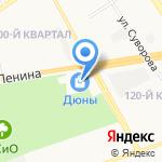 Магазин нижнего белья на карте Дзержинска