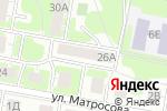 Схема проезда до компании Ромашка в Дзержинске
