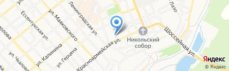 Воспитательная колония для несовершеннолетних УФСИН по Ставропольскому краю на карте Георгиевска