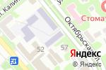 Схема проезда до компании Георгиевский технологический техникум в Георгиевске