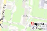 Схема проезда до компании Библиотека семейного чтения им. М. Горького в Дзержинске