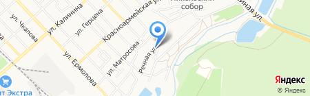 Алькор на карте Георгиевска