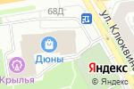Схема проезда до компании Салон мягкой мебели в Дзержинске