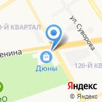 Мням-мням на карте Дзержинска