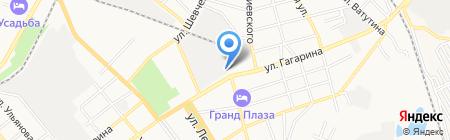 Семерочки на карте Георгиевска