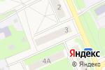 Схема проезда до компании Продуктовый магазин в Богородске