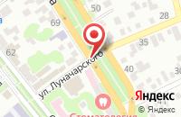 Схема проезда до компании ОКНАСЕРВИС.РФ в Георгиевске
