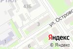 Схема проезда до компании 1000 АвтоМелочей в Дзержинске