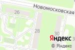 Схема проезда до компании Флора-1 в Дзержинске