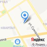 Калибр на карте Дзержинска