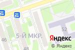 Схема проезда до компании Церковная лавка в Дзержинске