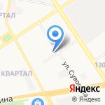 1000 АвтоМелочей на карте Дзержинска