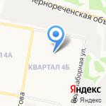 Детская музыкальная школа №2 им. А.П. Бородина на карте Дзержинска