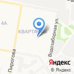 Средняя общеобразовательная школа №70 на карте Дзержинска