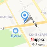 Автобум на карте Дзержинска