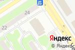 Схема проезда до компании Транспортная компания в Дзержинске