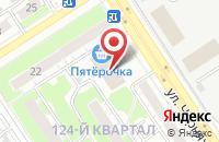 Схема проезда до компании Тв Про в Дзержинске