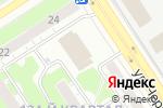 Схема проезда до компании Большая прогулка в Дзержинске