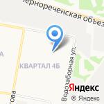 Карамелька на карте Дзержинска