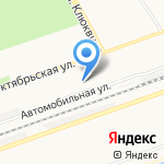 Средняя школа №30 на карте Дзержинска