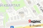 Схема проезда до компании Дзержинское время в Дзержинске
