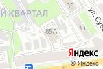 Схема проезда до компании Восток-Электро плюс в Дзержинске