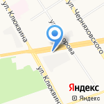 Ювелир на карте Дзержинска