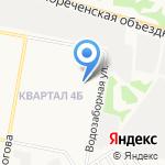 Макс на карте Дзержинска