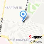 На Околице на карте Дзержинска