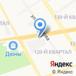 Магазин инструмента и крепежа на карте Дзержинска