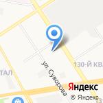 Березка на карте Дзержинска
