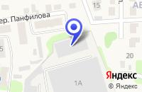 Схема проезда до компании ТОРГОВАЯ КОМПАНИЯ СЕПАЛ в Городце