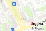 Схема проезда до компании Оптика Кронос в Дзержинске
