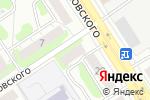 Схема проезда до компании Ритуальный салон в Дзержинске