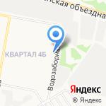 Мегатакт на карте Дзержинска