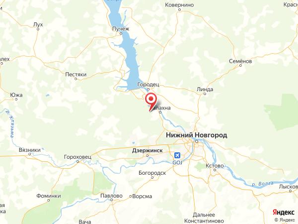 поселок Лисья Грива на карте