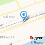 Магазин стройматериалов на карте Дзержинска