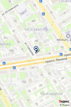 МАГАЗИН КДХ МИР на карте Дзержинска