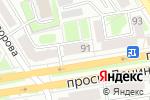 Схема проезда до компании Алеся в Дзержинске